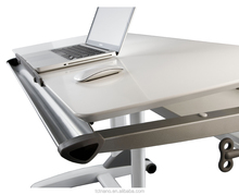 TCT workstation G2-L elegant height adjustable home office ergo desk