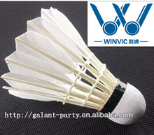 Class A Natural Goose Feather OEM Badminton Tournament Shuttlecock (12-pk)