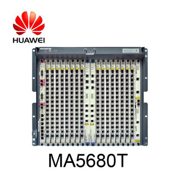 Huawei GPON OLT MA5680T with a maximum 1024 pots/ports