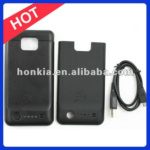 Power Bank Battery Charger Case For Samsung Galaxy S2