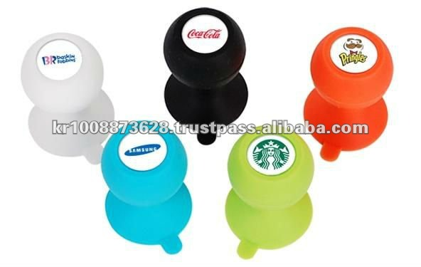 silicone phone holder ball stand for i-phone