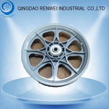Plastic Wheels 16 /Rubber Wheel Plastic Rim for Utility Cart