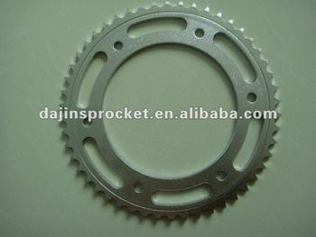 High quality motorcycle rear and front sprocket