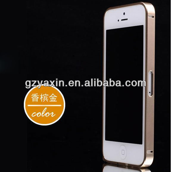 Luxury Ultra-thin 0.7mm Aluminum Metal Bumper Blade Frame Case For iPhone 5 5S,frame for iphone 5 case