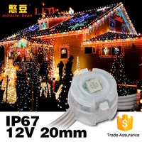 RGB Full color Waterproof IP67 20mm High brightness DC5V 5050 LED Light module