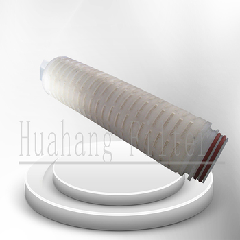 0.01 micron High flow pleated PP membrane water filter cartridge