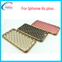 For Iphone 6s plus case,2016 top design electroplate plating tpu gel case for Iphone 6s plus