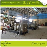 Low using cost 1000kw natural gas generator with CHP system