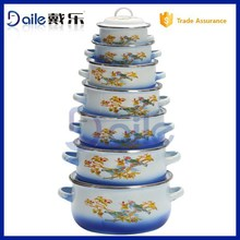 high quality porcelain enamel cookware