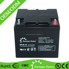 Valve Regulated Rechargeable Battery 12v 38ah AGM Battery UPS Battery 7ah 12ah 22ah 24ah 38ah 65ah