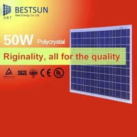 high quality 50W cheap poly solar panel, photovoltaic solar module