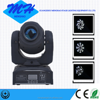 low price 30w gobo projector spot led mini moving head