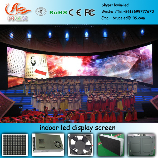 RGX B47Indoor super bright led walking display video/graphic advertising suitable for shopping mall/metro station/brand store/re