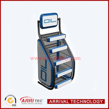Retail Store Oil Container Display Rack
