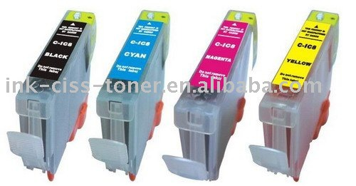 Refillable Ink cartridge for Canon inkjet printer PIXUS MP900