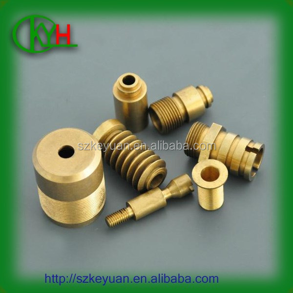 China machine shop provide oem precision cnc turning brass electrical parts