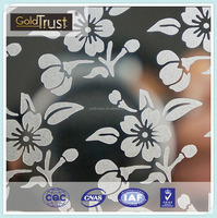 ASTM 304/316/316L/430 No.8 Mirror Etching finish Decorative Stainless Steel Sheet for Elevator,Building and Kitchen wall panels