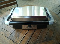 Professional Electric Panini Press Grill Sandwich Maker for Tabletop