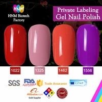 OEM in bulk beautiful colors uv colored gel nails polish guangzhou