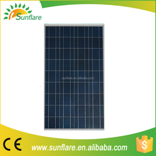 direct from factory 150w 18v poly lowest price the solar panel from Chinese factory