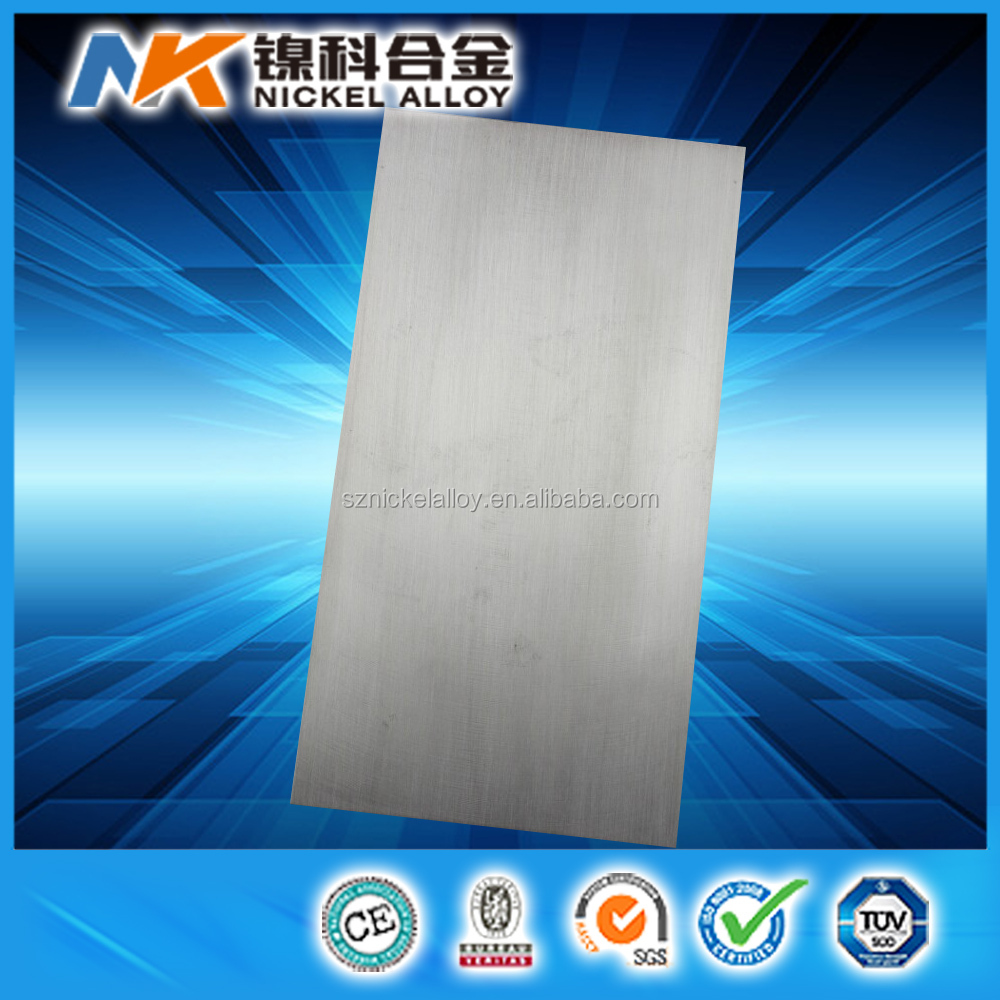 high resistance electrothermal alloy ni80cr20 nickel chrome sheet