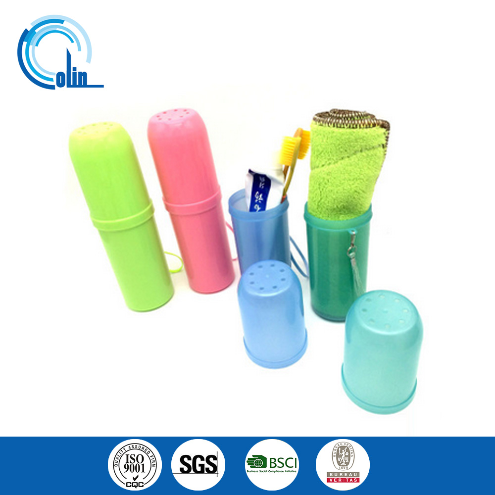 Creative toiletries storage barrel portable toothbrush toothpaste box set of travel lovers shukoubei tooth cup set