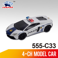 Good selling 1:16 4-ch rc police car toy model for kids