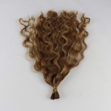 High Quality Pre-bonded Hair Extension Keratin Fusion Tip 100% Remy Human Hair Extension i Tip Hair Extensions