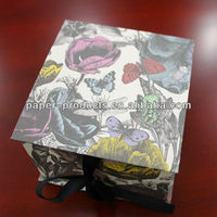 2014 New Insects&Plants Painting Design Cardboard Packing Jewelry Box