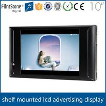 Flintstone motion sensors for point of sale displays retail advertising monitor 10inch lcd motion activated digital signs
