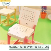 free wedding gift paper desk calendar