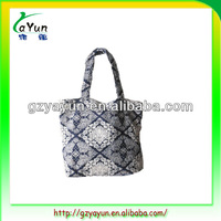 new style cotton road bag ,free promotional bag