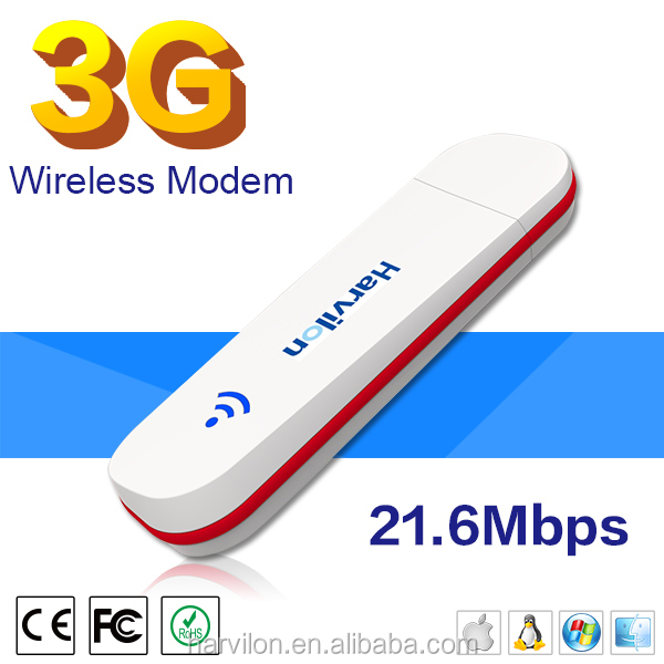 21.6Mbps USB 3G 2G USB Dongle USB Flash Drive Modem For Internet Connecting