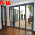 AS2047 standard aluminum glass folding doors made in china