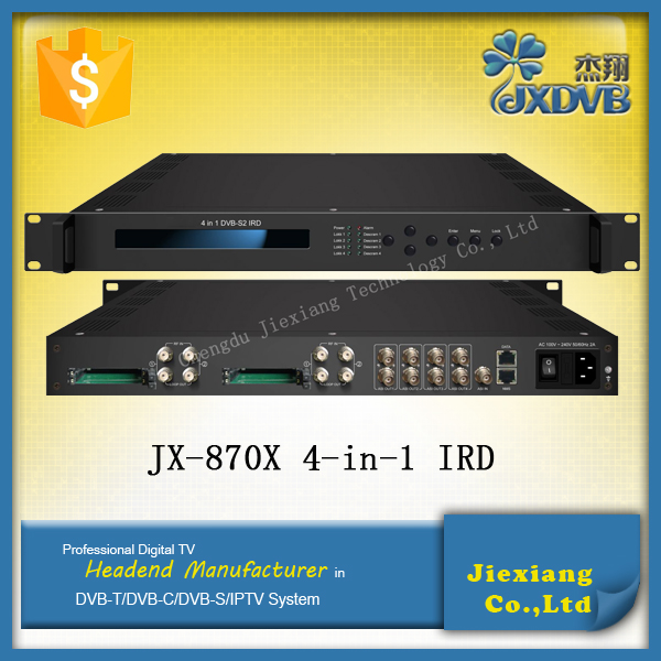 Satellite Decoder Irdeto Digital Cable TV Receiver Decoder for Cable TV