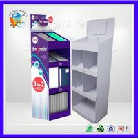 custom cardboard supermarket shelves ,custom cardboard shelf display ,custom cardboard standup