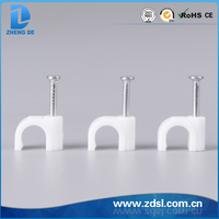 China White Plastic Circle Nail Clip Manufacturers