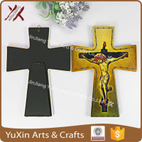 Ceramic decoration the cross shape for decorative the designs of client
