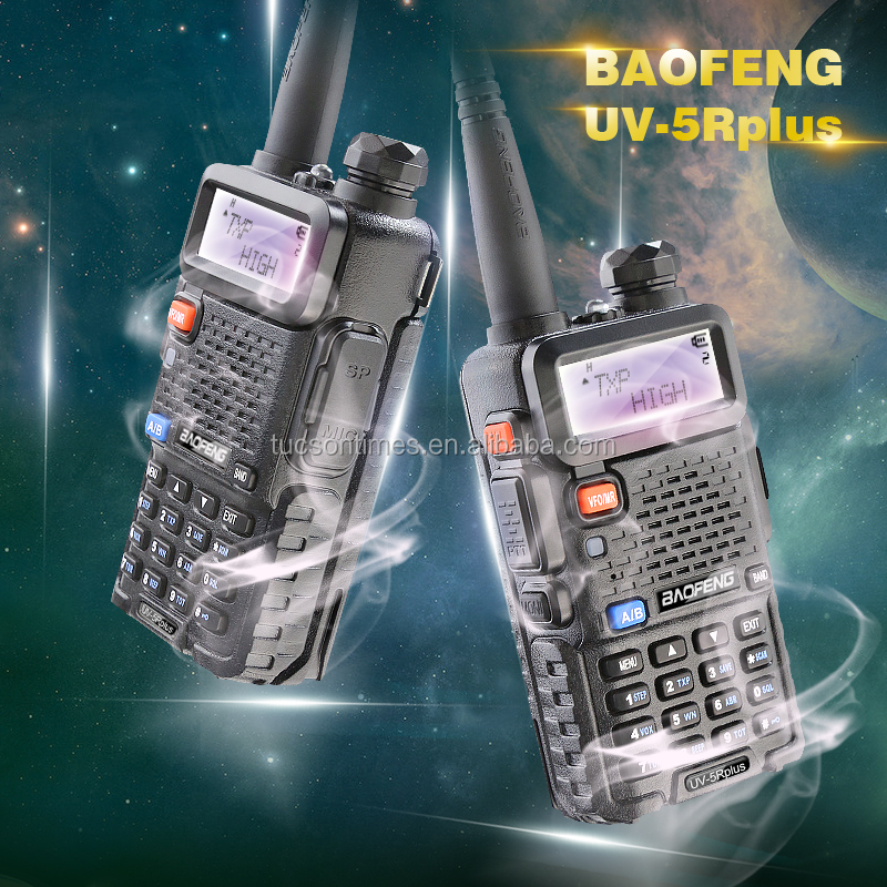 Shortwave Baofeng BF-UV5Rplus 5w muliti band radio receivers