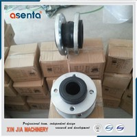 flexible rubber metal flanged ties coupling pipe fittings expansion joint