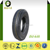 4.00-8 8PR DJ-648 facotry hign quality Three Wheel MADE IN CHINA hot sale motorcycle tyre