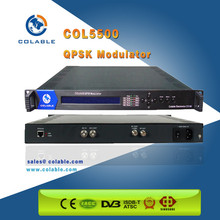 Digital TV Satellite TV One channel ASI to QPSK modulator for ASI to DVB-S modulator