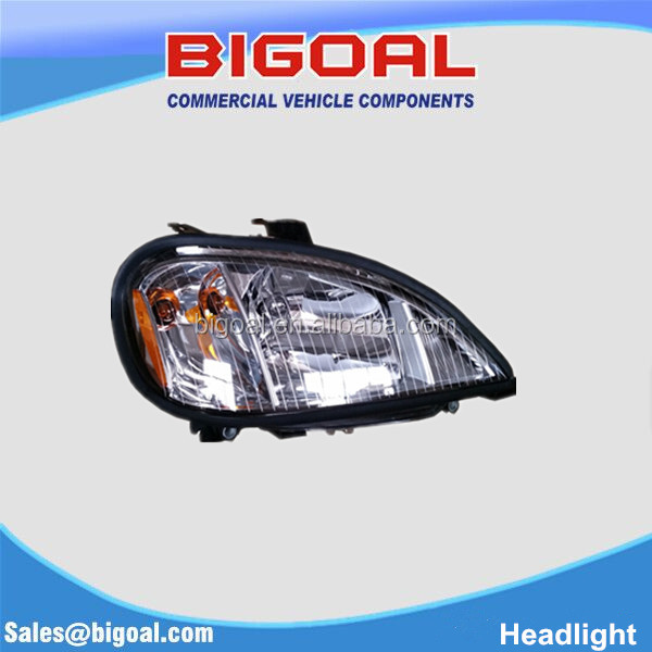 Cyrstal HEADLIGHT for Freightliner COLUMBIA 04 A06-51041-000 LH/A06-51041-001 RH