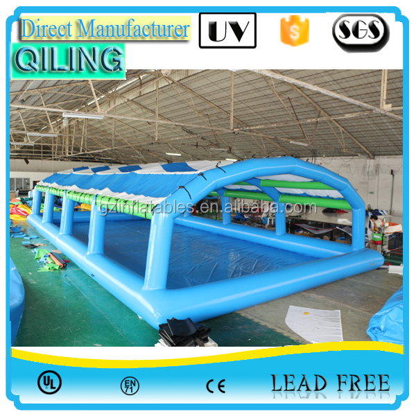 Wholesale Safety Bubble Plastic Inflatable Swimming Pool Cover Tent For Inground And Above
