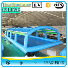 wholesale safety bubble plastic inflatable swimming pool cover tent for inground and above ground pools