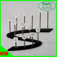 Acrylic Display Rack Jewelry Stand for Fashion Accessories Store