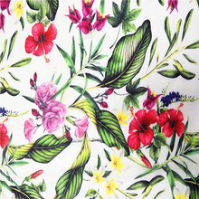 Digital printing 100% polyester chiffon velvet fabric wholesale