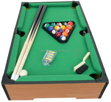 MDF playfiled mini pool table for kid