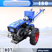 10HP electric start walking tractor