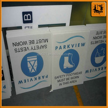 Shanghai factory advertising PP flute board for sale